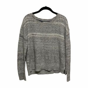 Sparrow Striped Knit Sweater